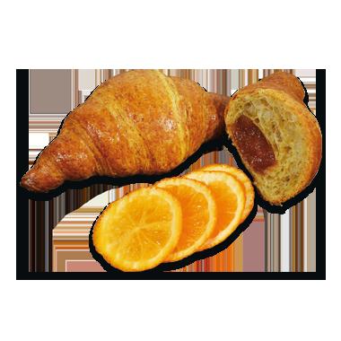 Vollkorn Gipfel mit Orangen und Hanfmehl