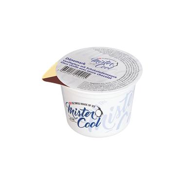 Dänemark / Vanilleglace mit Schokoladensaucek